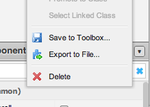 Save to Toolbox in Ext Designer 1.1