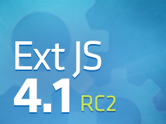 Ext JS 4.1 RC 2 Released