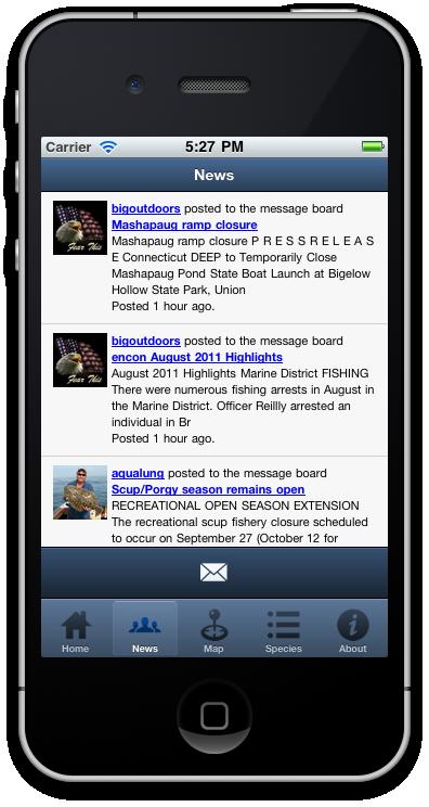 Design develop and manage enterprise web applications for Fish finder apps