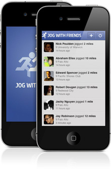 Jog with Friends, a new Facebook example app in Sencha Touch 2