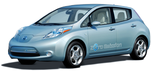 Write some JavaScript, and win a Nissan Leaf.