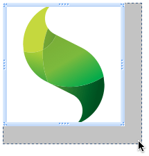 Resizable Sencha Logo Component